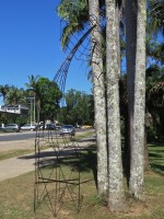 """""""The Palms in Palm Park"""" by Frank Meura"""